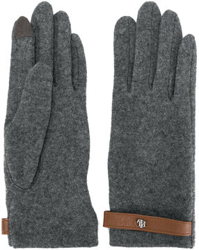 Lauren Ralph Lauren strap detail gloves