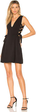 BCBGMAXAZRIA Kalie A Line Dress With Sid