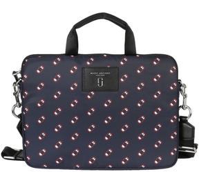 Marc Jacobs Monogram Briefcase - NAVY MULTI - STYLE