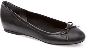 Rockport Women's Total Motion Round-Toe Ballet Flats Women's Shoes