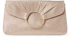 Jessica McClintock Rose Gold Meadow Shimmer Convertible Clutch