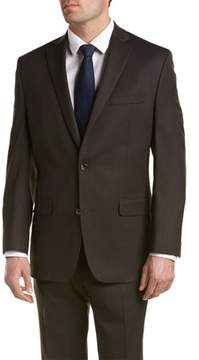 MICHAEL Michael Kors Wool Suit With Flat Front Pant.