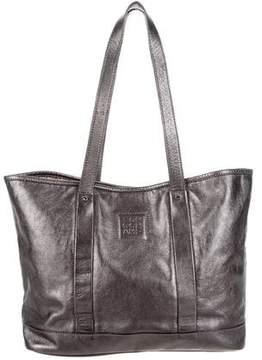 Longchamp Metallic Leather Tote