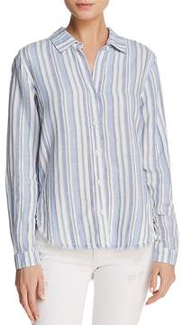 Bella Dahl Fringed Button-Down Shirt