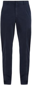 American Vintage Bullington carrot-fit cotton-blend chino trousers