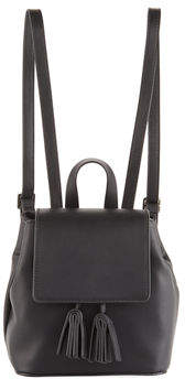 French Connection Vale Mini Faux-Leather Backpack