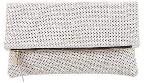 Clare Vivier Perforated Leather Pouch