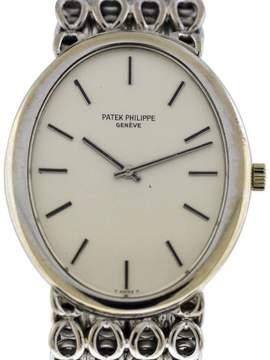 Patek Philippe Golden Ellipse 18K White Gold Watch