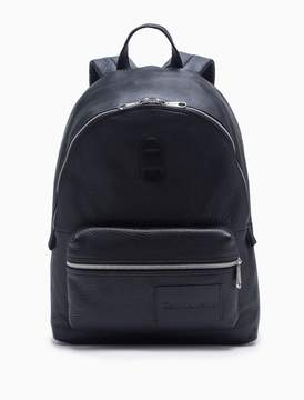 Calvin Klein pebble leather campus backpack