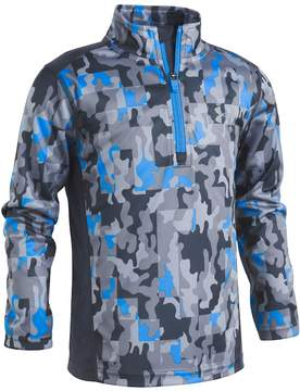 Under Armour Boys 4-7 Camouflaged 1/4-Zip Pullover