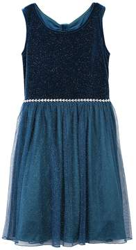 Speechless Girls 7-16 & Plus Size Glitter Bow-Back Dress
