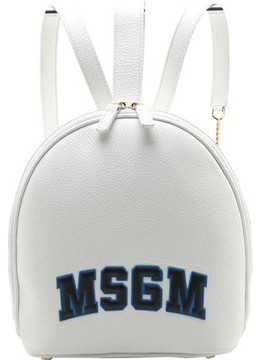 Women's MSGM Classic Block Letter Backpack