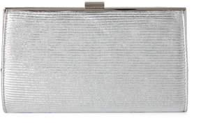 La Regale Silver Sparkle Clutch