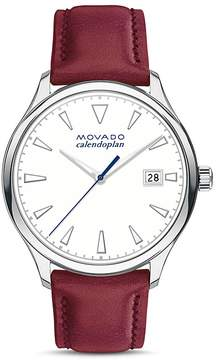 Movado Heritage Calendoplan Watch, 36mm