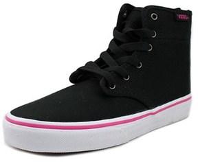 Vans Camden Hi Zip Round Toe Canvas Skate Shoe.