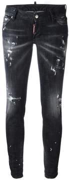 DSQUARED2 Jennifer distressed stonewash jeans