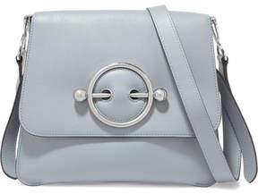 J.W.Anderson Disc Leather Shoulder Bag - Light blue