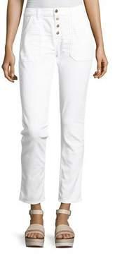 BA&SH Cmarc High-Rise Pants, White