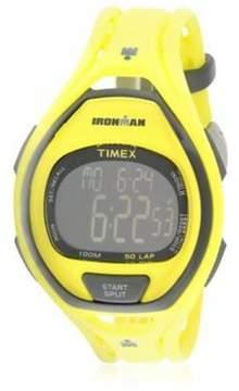 Timex Ironman Yellow Resin Unisex Digital Watch TW5M01800JV