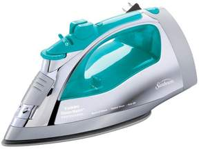 Sunbeam® Steam Master® Iron with Retractable Cord, Chrome & Teal, GCSBSP-201-000