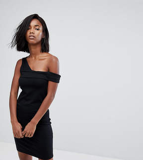 Noisy May Bodycon Dress With Asymmetric Straps