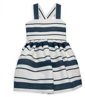 Helena and Harry Baby's, Toddler's, Little Girl's& Girl's Striped Bow Dress