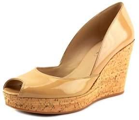 Via Spiga Stam Open Toe Synthetic Wedge Heel.