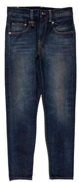 R 13 Boy Distressed Skinny Jeans w/ Tags FALL 2015
