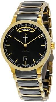 Rado Centrix Day-Date Black Dial Men's Watch