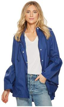 BB Dakota Yael Rain Jacket with Bell Sleeves Women's Coat