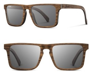 Shwood Men's Govy 2 52Mm Polarized Wood Sunglasses - Walnut / Grey
