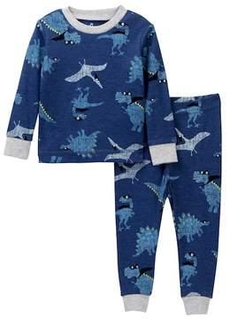 Petit Lem Super Dino Pajama Set (Baby Boys)