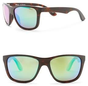 Revo Otis Polarized 58mm Square Sunglasses