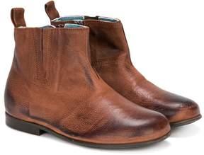 Pépé burnt effect boots
