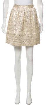 Steven Alan Metallic Mini Skirt