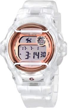 Casio Transparent Resin Ladies Watch