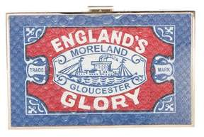 Anya Hindmarch Imperial Englands Glory Clutch