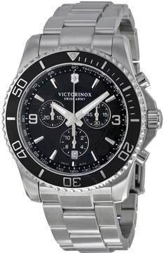 Victorinox Maverick Chronograph Black Dial Stainless Steel Men's Watch