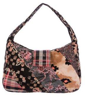 Christian Lacroix Patchwork Handle Bag