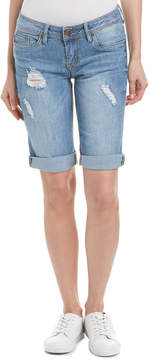 Dollhouse Havana Distressed Short