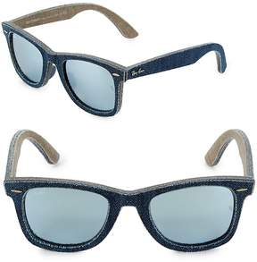 Ray-Ban Women's 52MM Denim Wayfarer Sunglasses