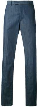 Hardy Amies slub trousers