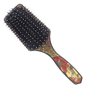 Kent Salon Cushion Nylon Ball Tip Quill Small Hairbrush - LPB2