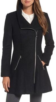GUESS Women's Asymmetrical Coat
