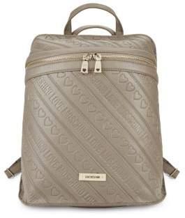 Debossed Backpack