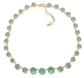 Jenny Packham Crystal Stone Collar Necklace