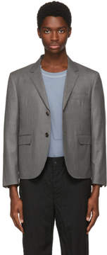 Thom Browne Grey Little Boy Blazer