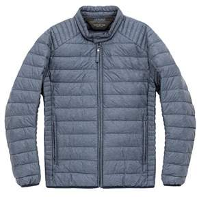 Andrew Marc Mens Lincoln Jacket In Fog.