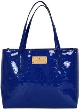 Kate Spade Blue Polka Dot Handbag - BLUE - STYLE