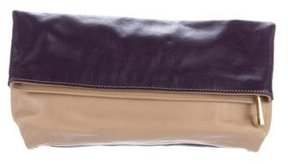 Emilio Pucci Colorblock Fold-Over Clutch
